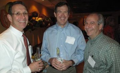 Richard Lynch, Doug Peck (BHP) and Ken Tubman (ConocoPhillips)